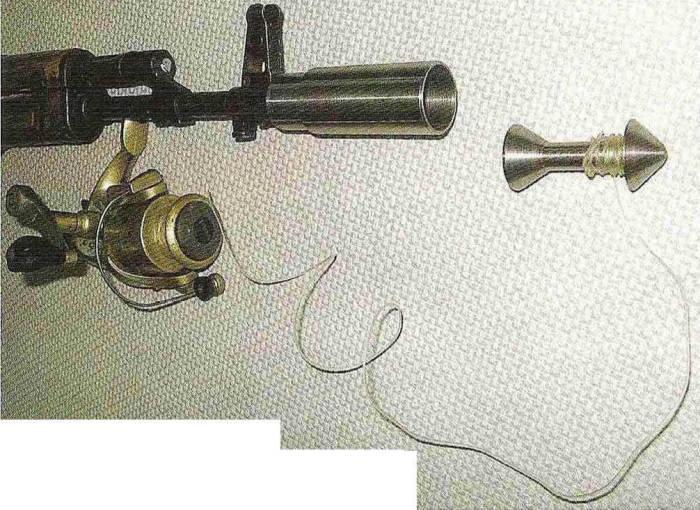 Зачем к АК-74 крепили катушку от спиннинга