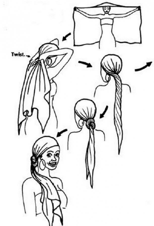 Палантин украсит любую женщину: 7 способов красиво завязать великолепный аксессуар