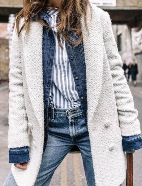 9 сногсшибательных образов, которые доказывают, что белый можно и даже нужно носить зимой