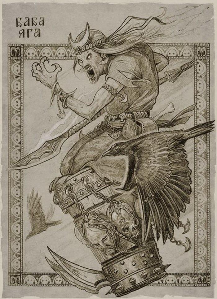 Картинки былинные герои на современный лад