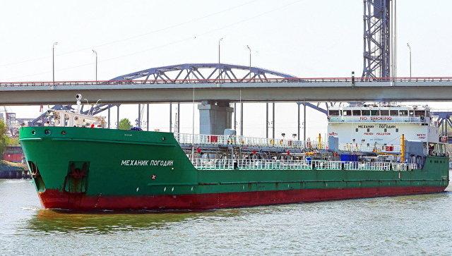 Пьяный украинец на лодке «Крым» протаранил танкер «Механик Погодин»