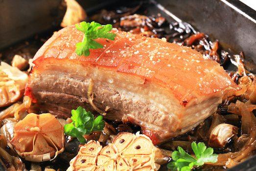 Подчеревок в духовке — вкусное и сытное блюдо мясные блюда,рецепты