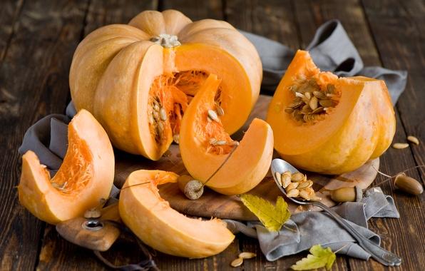 Семечки и мякоть тыквы от холестерина