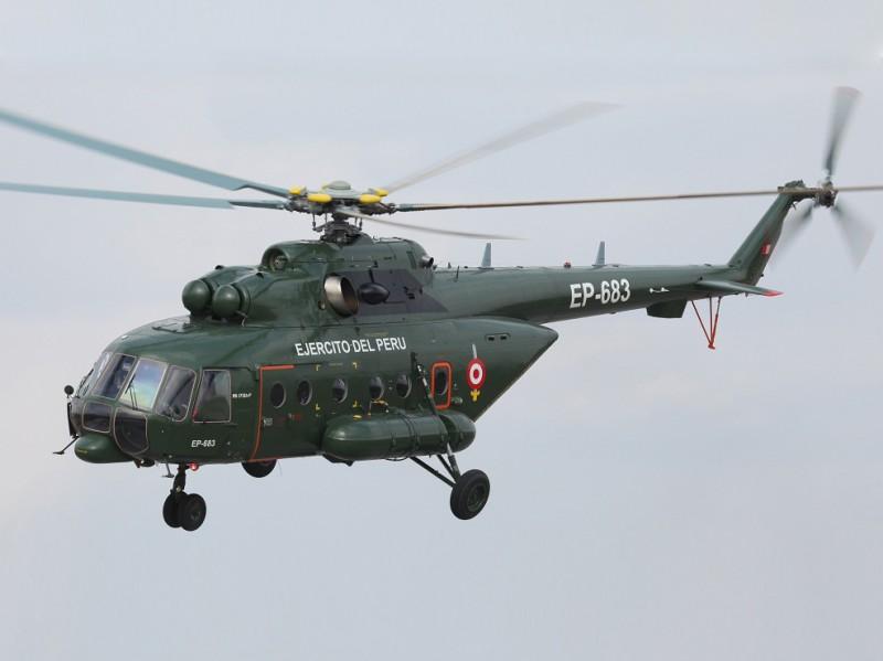 Перу отказалось от закупки партии запчастей для вертолетов Ми-171Ш-П армейской авиации