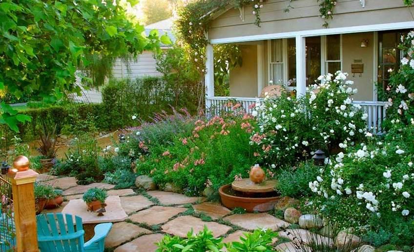 Мой зачарованный сад: как обустроить сад в английском стиле на 6 сотках