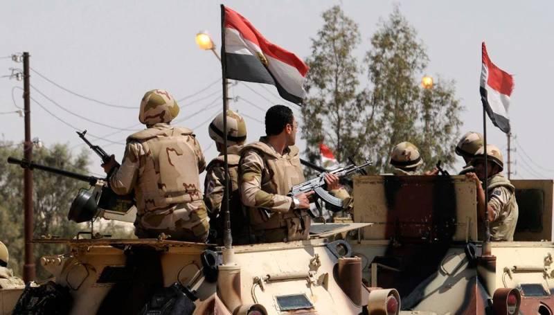 В Египте завершён этап крупнейшей за последние годы силовой операции