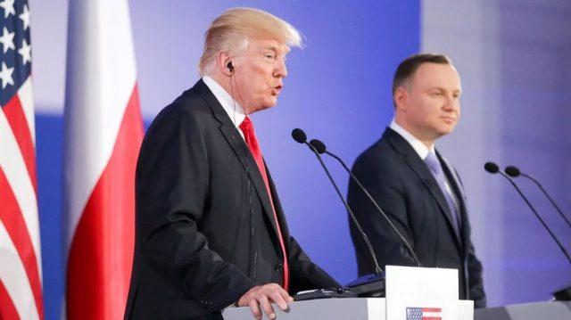 Трамп и Дуда слились в едино…