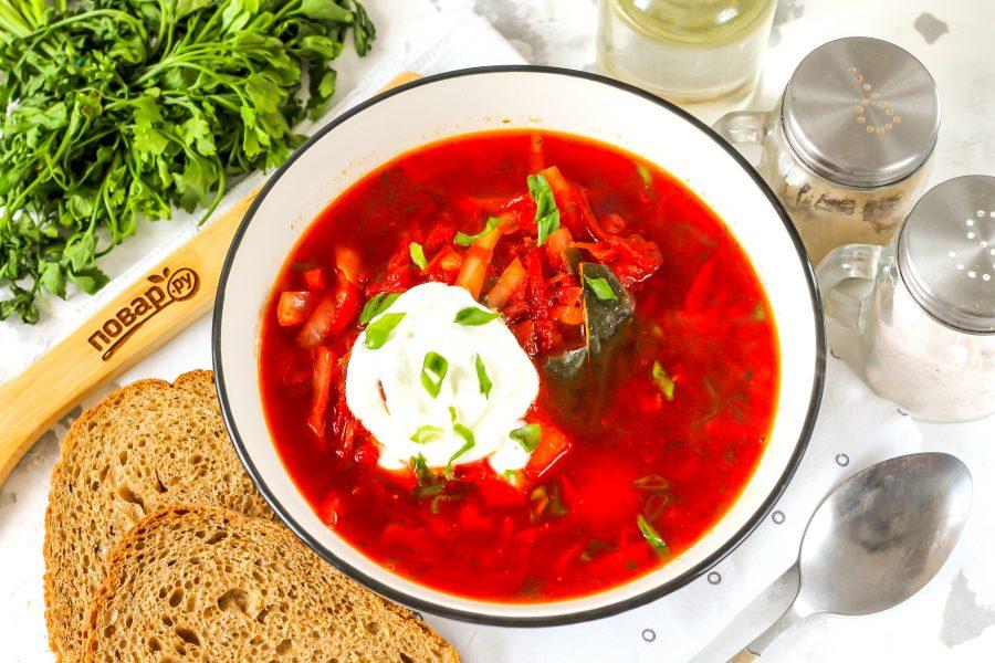 Секреты идеального борща супы