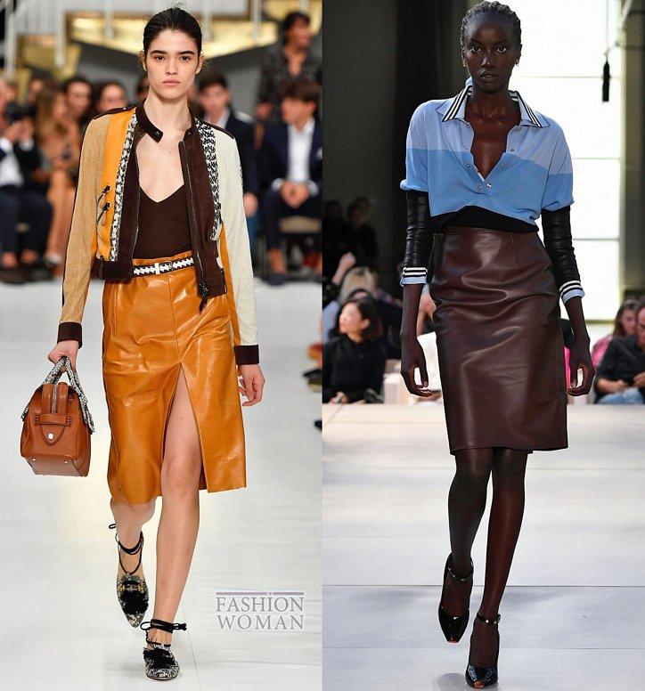 Модные юбки весна-лето 2019 фото №35