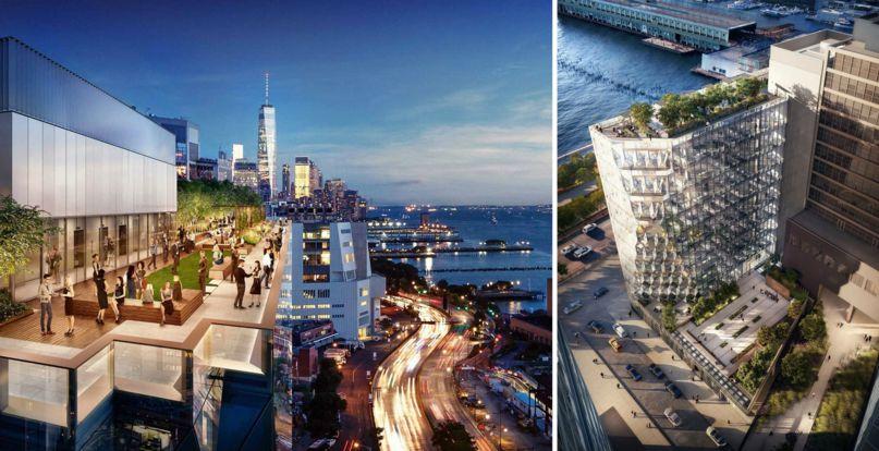 В Нью-Йорке построят здание, не отбрасывающее тень