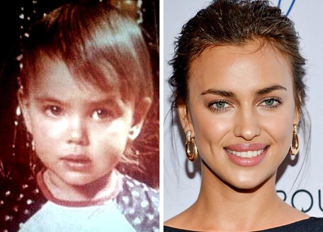 Гены или пластика: 24 фото знаменитых красавиц в детстве