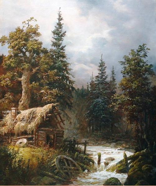 """""""Заброшенная мельница"""", 2010"""