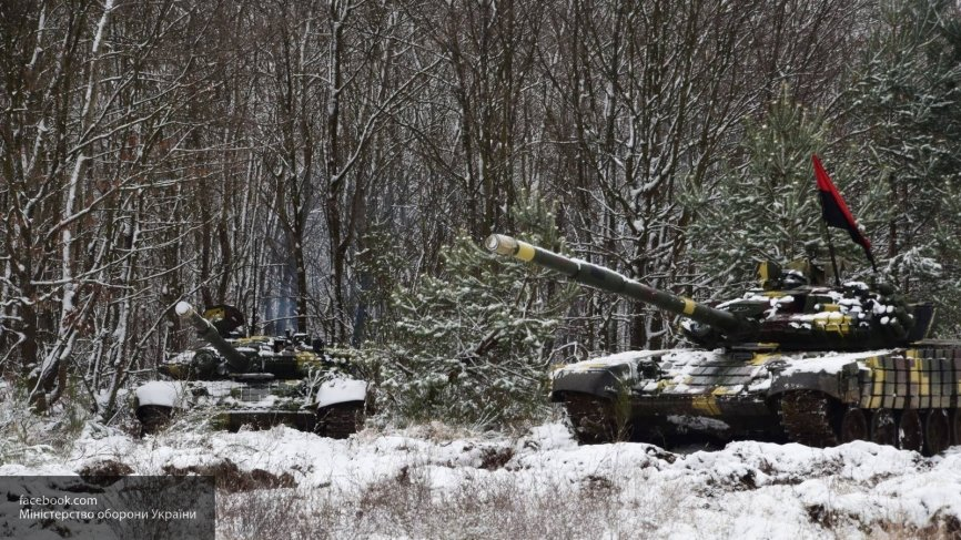 ЛНР: ВСУ разместили ЗРК и танки у линии соприкосновения в Донбассе