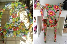 Посмотрите, как мастерица кардинально преобразила садовую пластиковую мебель вдохновляемся,новая жихзнь старых вещей
