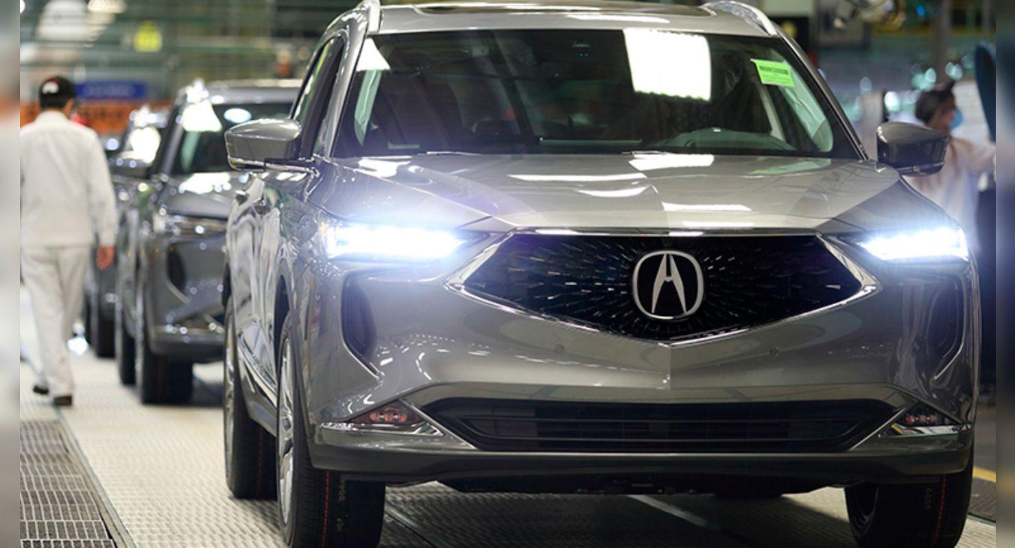 Новый флагманский внедорожник Acura MDX запустили в производство Автомобили