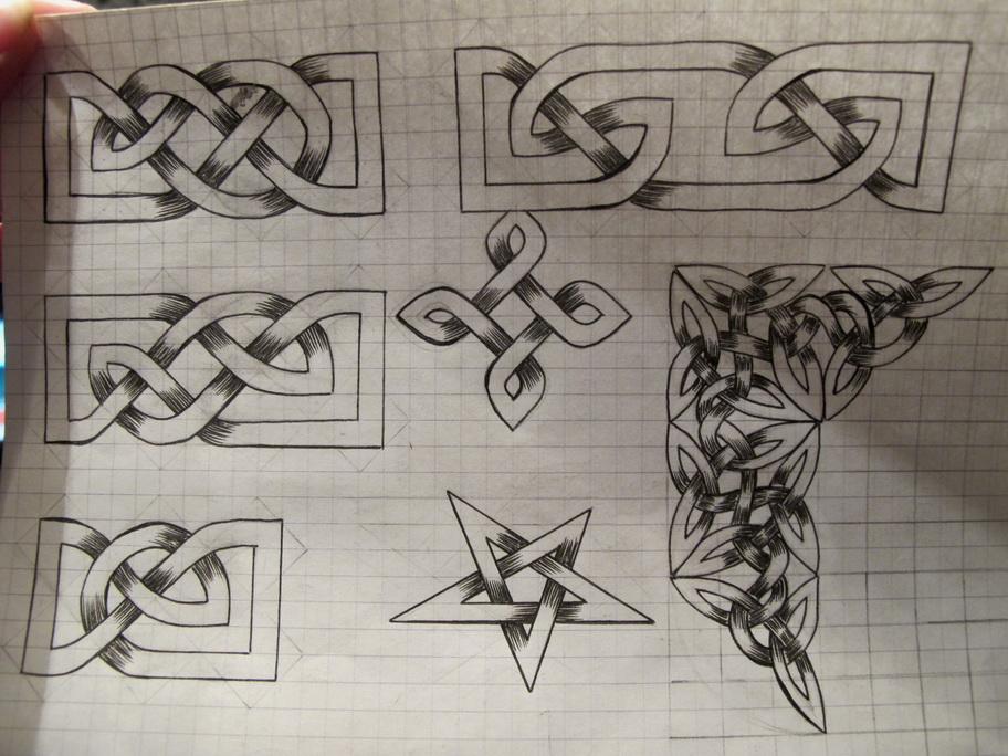 Рисуем на бумаге в клетку Как нарисовать 3d рисунок