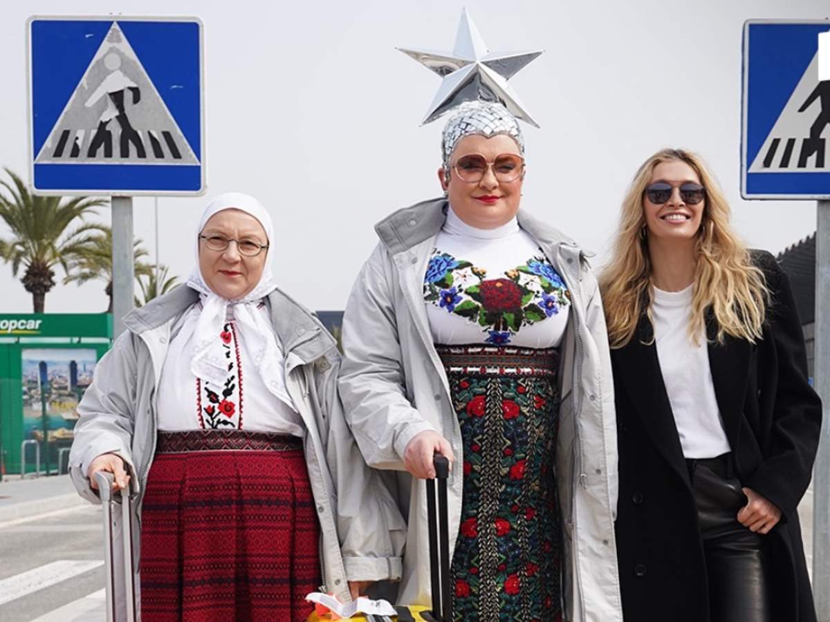 Вера Брежнева и Верка Сердючка