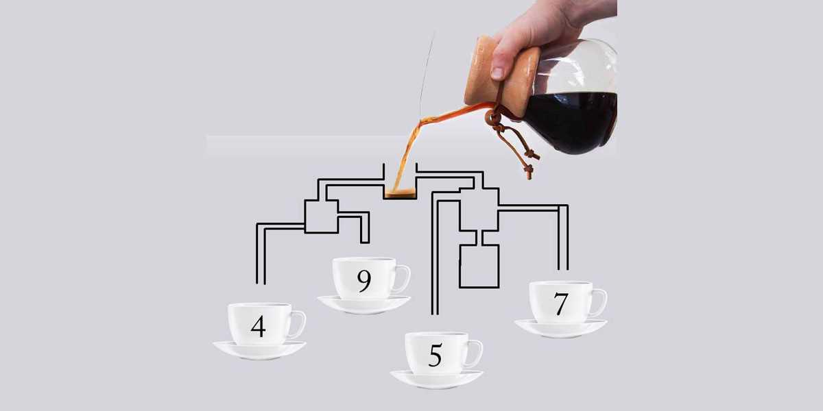 Эта кофейная головоломка поставила многих в тупик