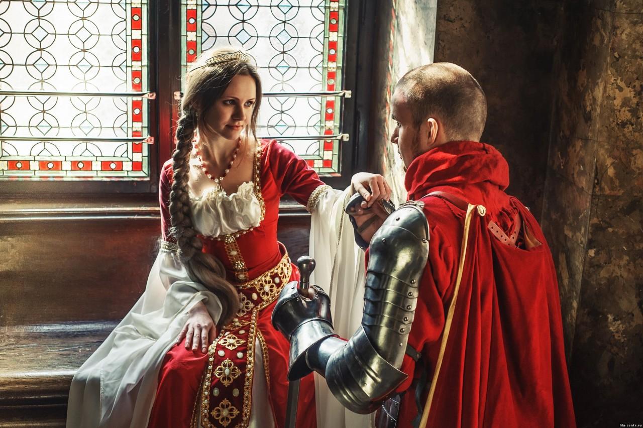 Рыцарские стихи прекрасной даме