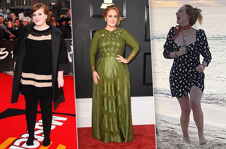 Как Певица Похудела. До и после: секрет похудения Адель на 45 килограммов