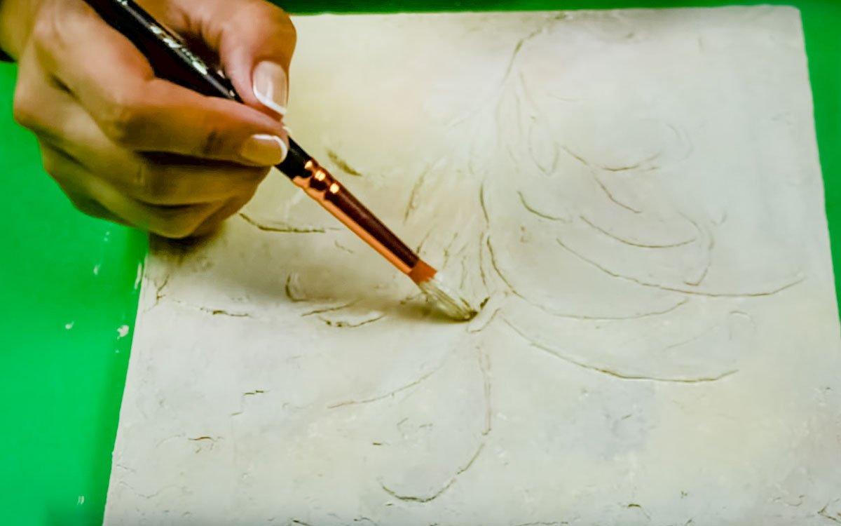 Барельеф из клея и соды своими руками для неудержимого творчества декор,интерьер,мастер-класс