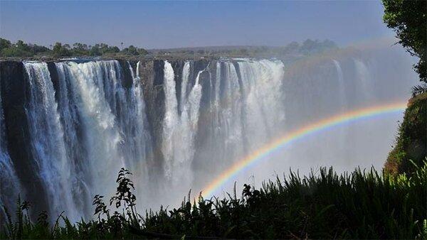 Водопад Виктория, Африка. Источник изображения: pixabay