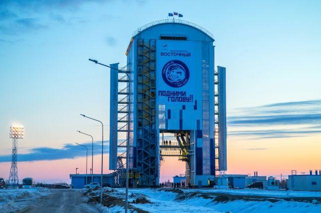 Строительство новой очереди космодрома Восточный перенесено на июль