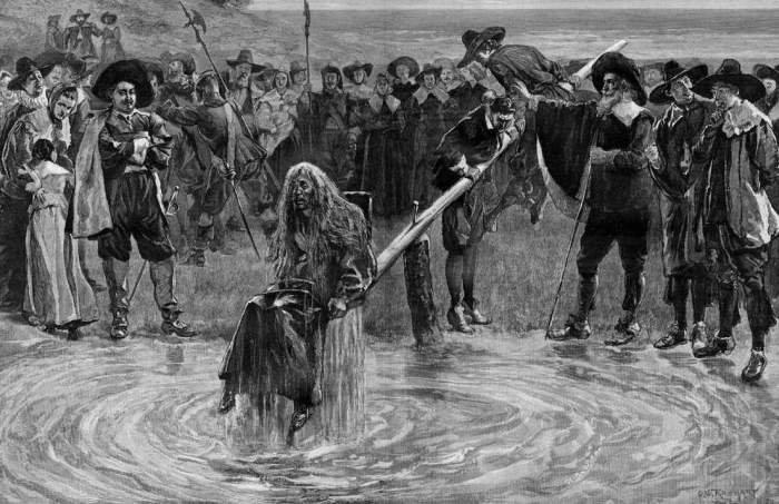 Как и за что наказывали женщин в Средневековье