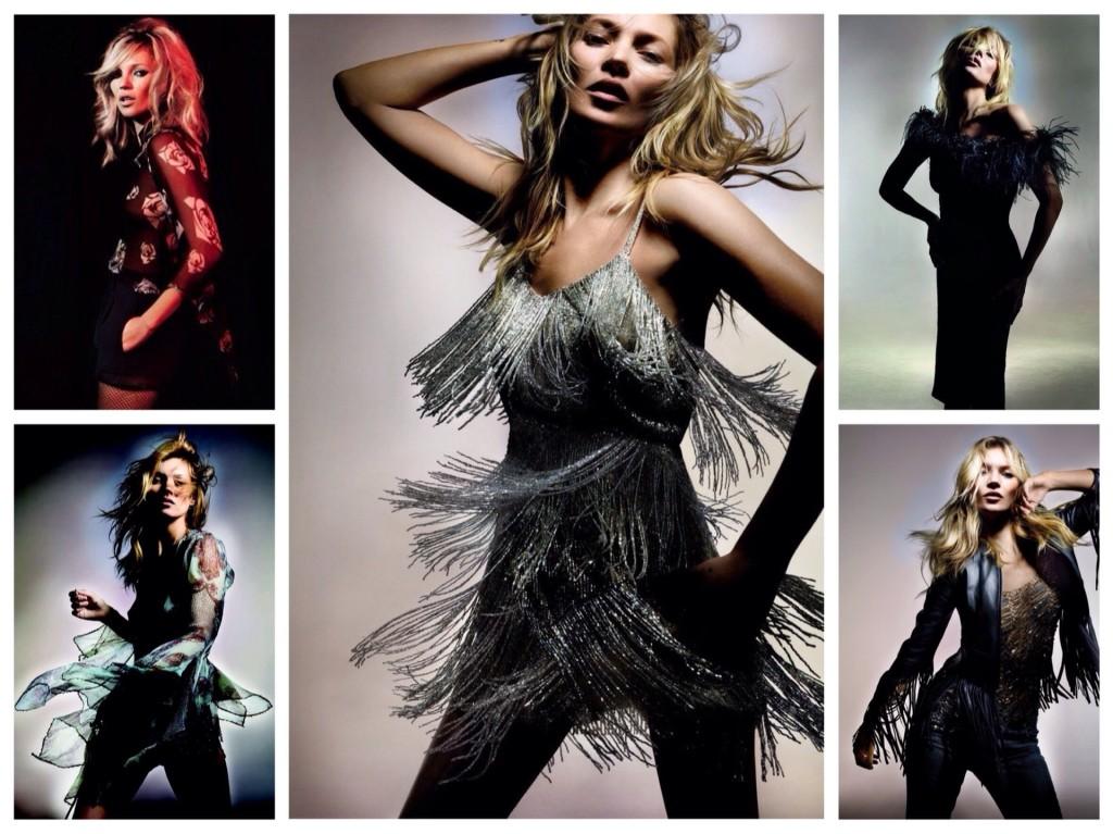 Kate Moss и TOPSHOP