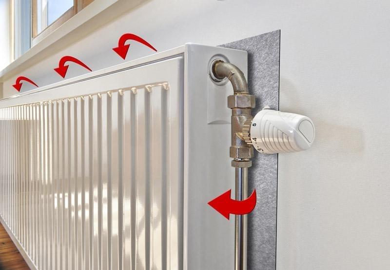 Сделайте ваши радиаторы более эффективными с помощью алюминиевой фольги