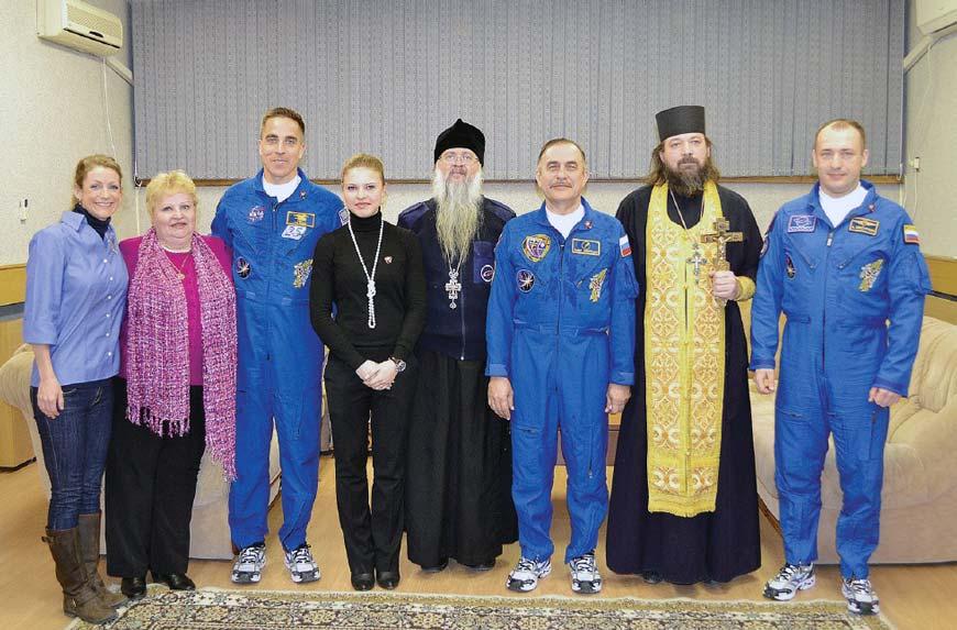 Проводы космонавтов в Звездном городке
