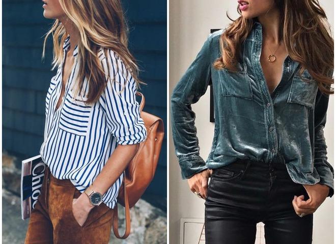 Что носить в офис: 5 модных рубашек на каждый день