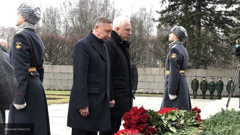 Беглов в годовщину прорыва блокады пожелал всем петербуржцам мира