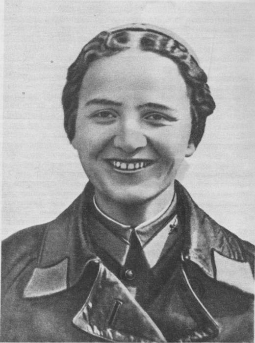 герой советского союза раскова марина михайловна