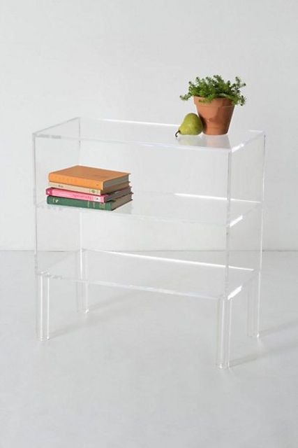 34 sheer illusion bookshelf for a modern space