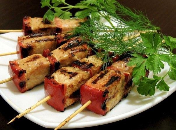 Взорви вкусовые рецепторы — Горячая закуска из красной рыбы с перцем