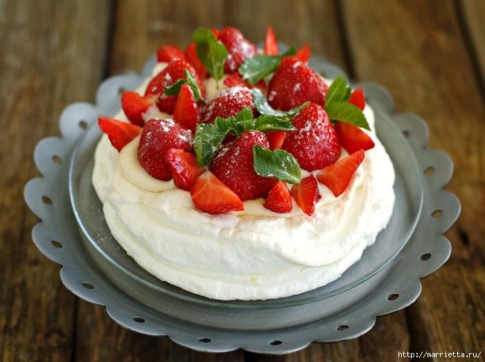 Самый красивый торт Павлова