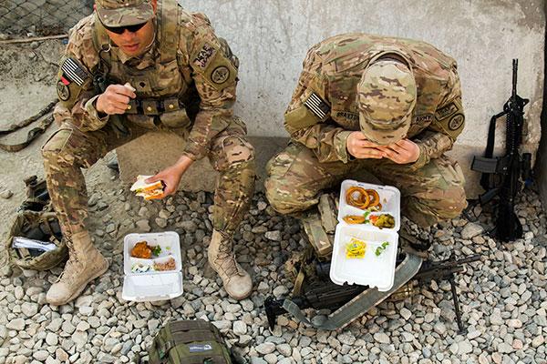 Что входит в сухие пайки армий разных стран мира