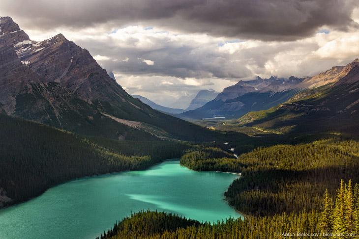 Банф — старейший национальный парк Канады