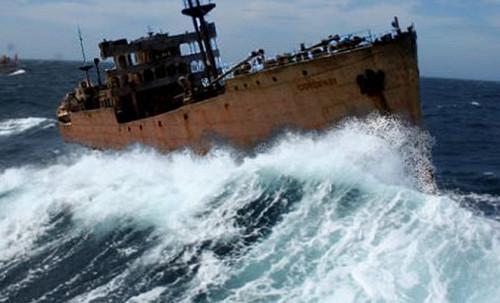 ИзБермудского треугольника вернулся корабль-призрак