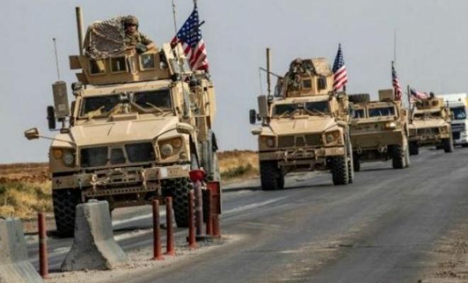 4 американских спецназовца заставили повернуть колонну российской боевой техники
