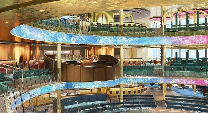 Судовладельцем стала немецкая компания AIDA Cruises, в которой работает около 11400 человек из 40 стран AIDAnova, carnival, ynews, германия, корабль, лайнер, мир, новости