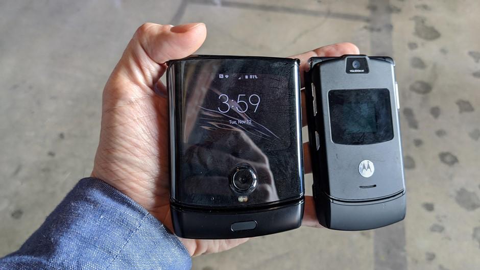 Уже 9 сентября Motorola может представить второй обновленный RAZR