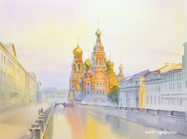 Петербург в акварели от Ольг…