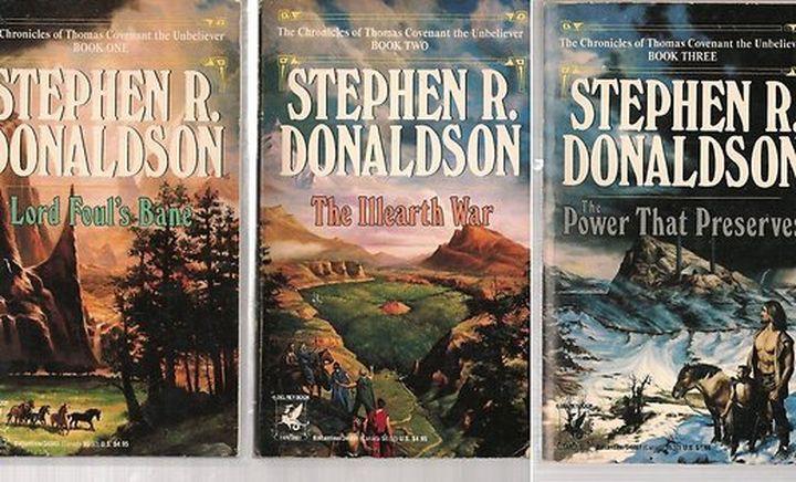 9. Стивен Р. Дональдсон книга, писатель, фэнтези
