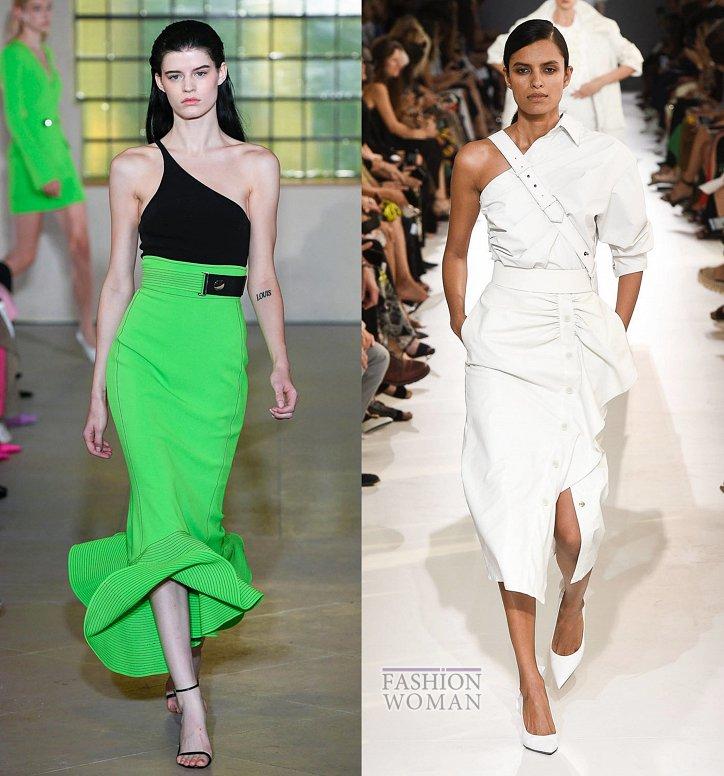 Модные юбки весна-лето 2019 фото №38