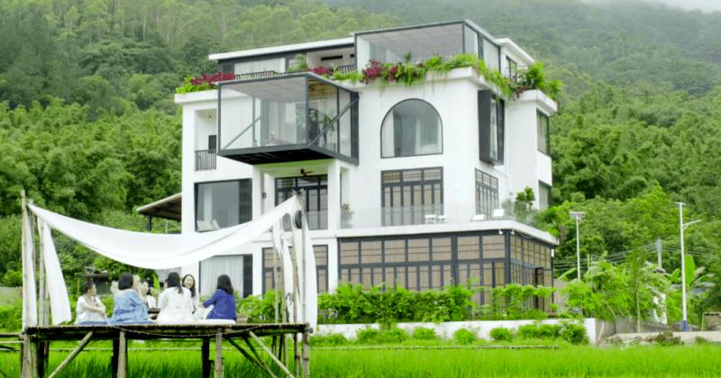 7 подруг из Китая купили в складчину особняк для счастливой совместной старости архитектура,где и как,идеи для дома,кто