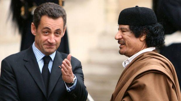 Сделка между Каддафи и Сарко…