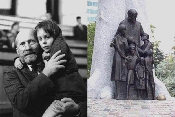 Не все люди мерзавцы! — сказал нацистам человек, вошедший в газовую камеру вместе с детьми.
