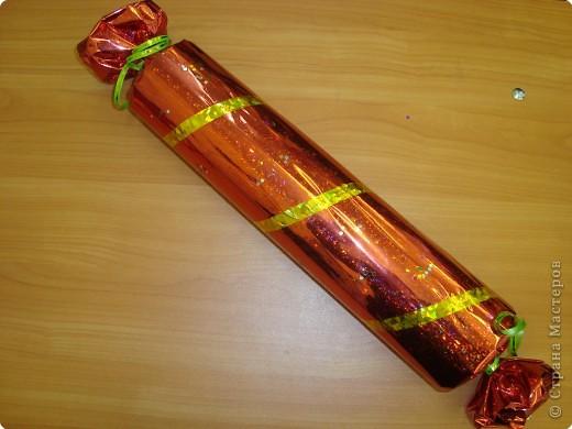 Большая конфета на елку своими руками